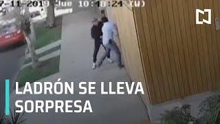 Ladrón falla en su intento por robar - A las Tres