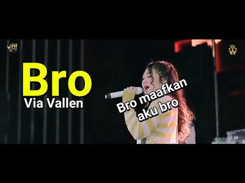Lirik Lagu Via Vallen-bro
