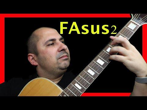 Acorde Fsus2 FAsus2