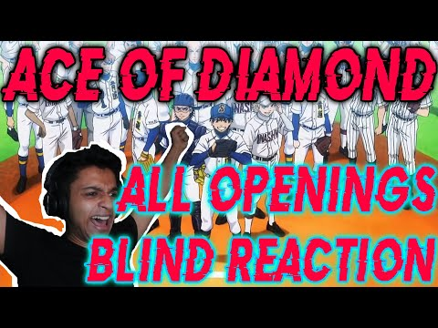 Ace of Diamond All Openings 1 - 7 Blind Reaction