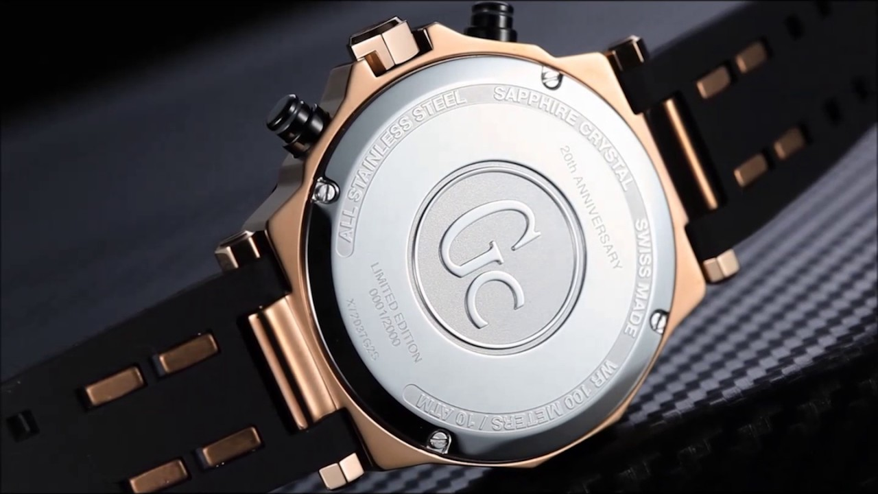 Gc Watches 20th Anniversary Limited Edition By Swisstime Y02009g7