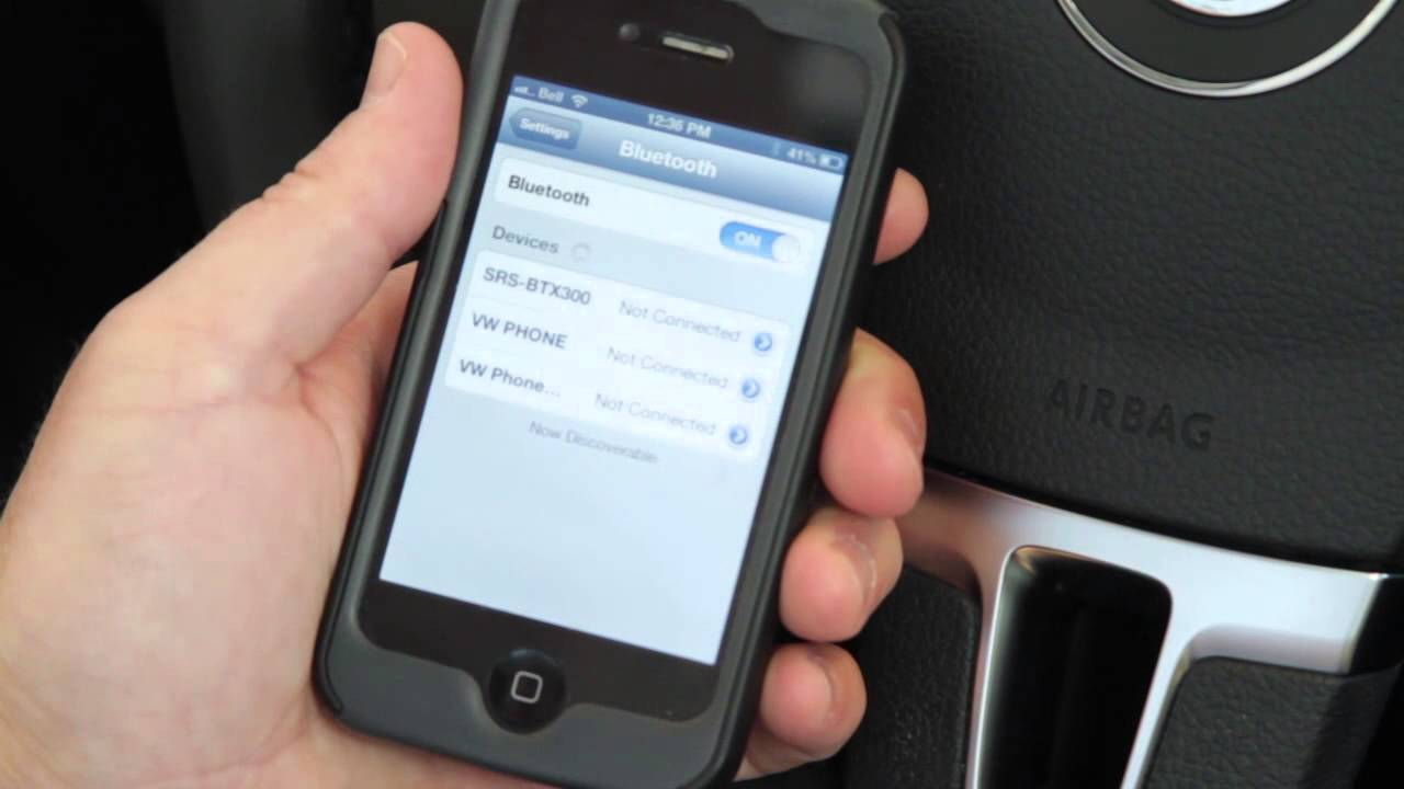 How to connect an iphone / smartphone to your Volkswagen, London Ontario
