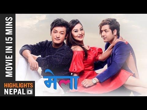 MELA | Movie In 15 Minutes | Salon Basnet, Amesh Bhandari, Aashishma Nakarmi