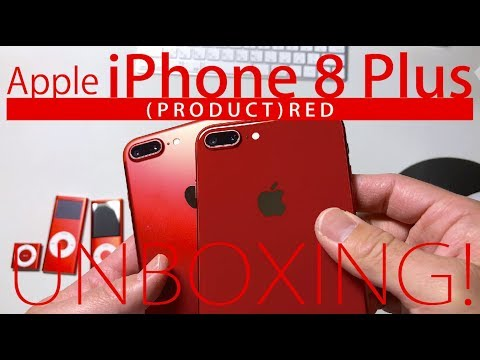 [4K] Apple iPhone 8 Plus (PRODUCT) RED 赤いiPhoneを開封  | RED iPhone 8 Plus Unboxing!
