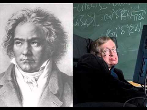 Beethoven the Man, the Artists read by Stephen Hawking