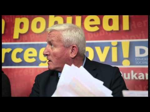 Slobodan Radović Krušo čita poruke građana