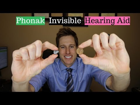 Phonak Virto B Titanium Invisible Hearing Aid - Applied Hearing Solutions