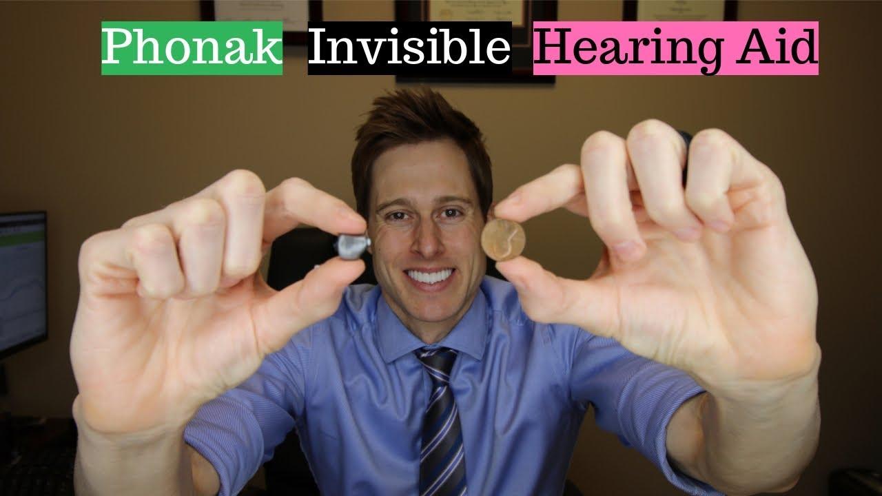 Phonak Virto B Titanium Invisible Hearing Aid - Applied Hearing Solutions