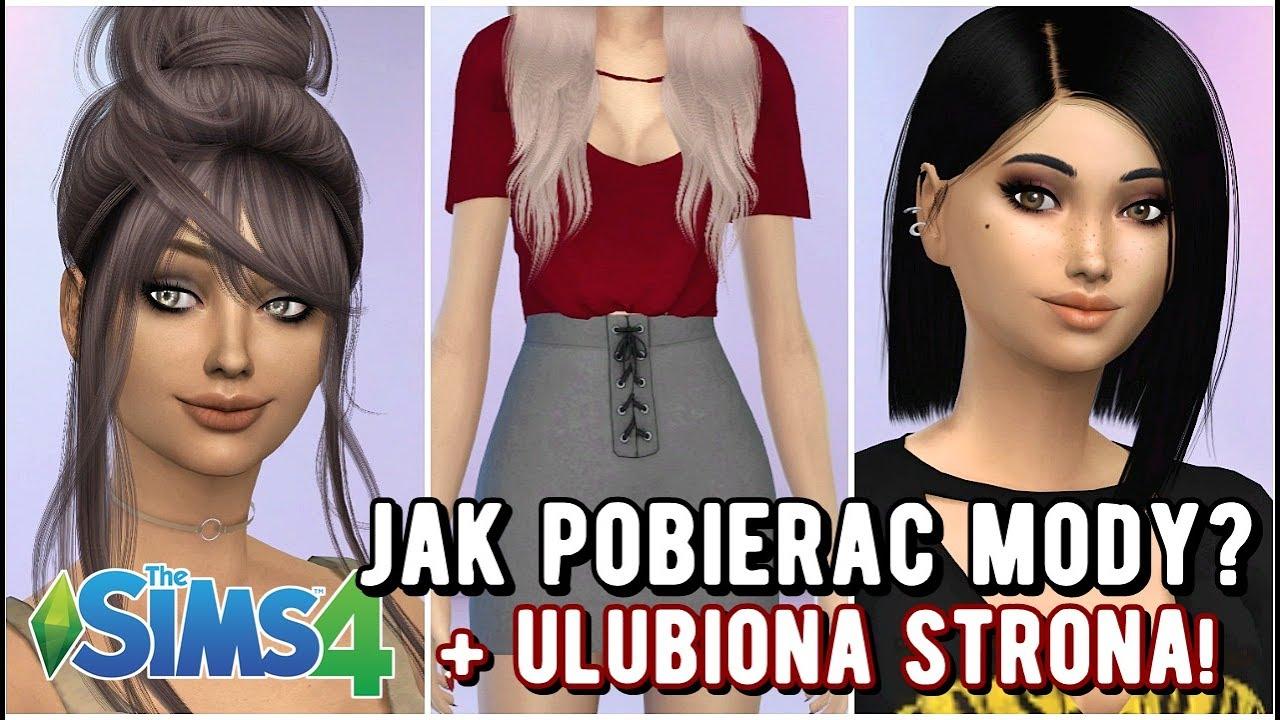 Jak Pobierać Mody The Sims 4 Strona Z Pięknymi Włosami I Ubraniami Itp