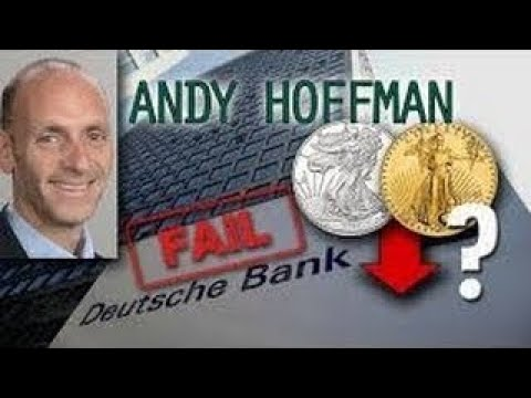 Gold vesves Silver Smash Down.BUY THE DIP! Deutsche Bank Crash Andy Hoffman Interview