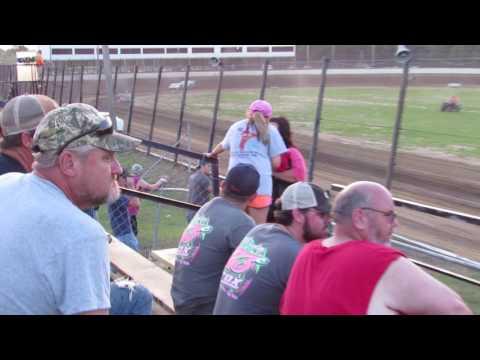 Lance Carroll hot laps @ Jackson Motor Speedway