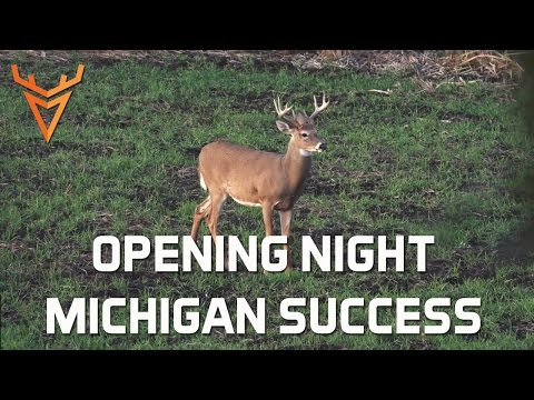 Wired To Hunt 2015 #1: Opening Night Bowhunting Success