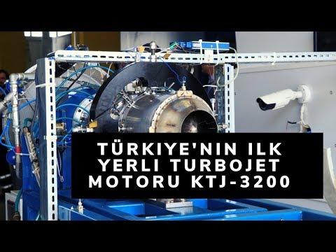 Türkiye'nin Ilk Yerli Turbojet Motoru KTJ-3200, Başarıyla Test Edildi