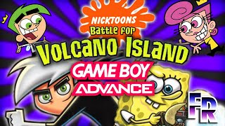 FR: Nicktoons: Battle for Volcano Island for GBA
