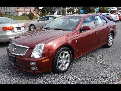 2006 Cadillac STS 3.6L V6 Start Up, Tour, and Review
