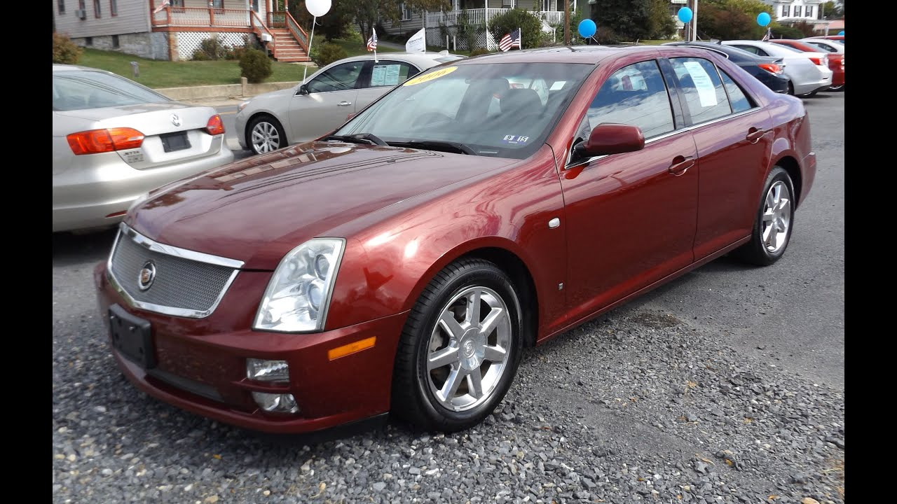 2006 cadillac sts 3 6l v6 start up tour and review youtube. Black Bedroom Furniture Sets. Home Design Ideas