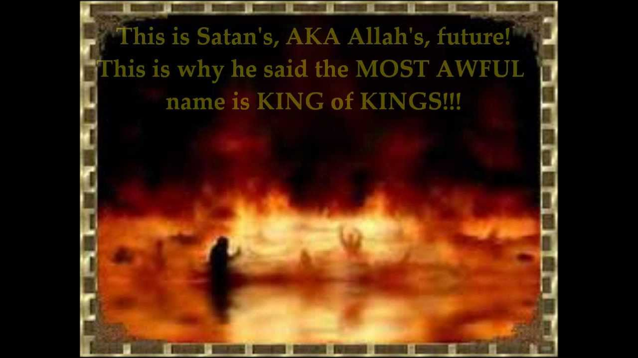 PROOF Allah is Satan: From the words of Muhammad