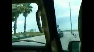 camino al aeropuerto internacional de miami.