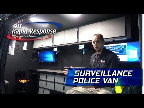 Surveillance Police Van   911RR
