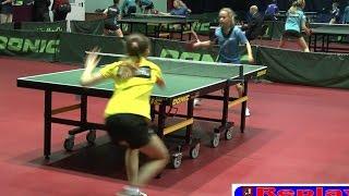 Анастасия ДОНЧЕНКО - Татьяна МИХАЙЛОВА Настольный теннис, Table Tennis