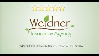 Weidner Insurance Reviews Best Commercial Insurance Conroe TX (936) 441-3517