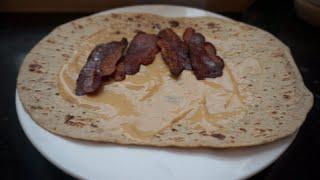 Protein, Pb2, Turkey Bacon And A Flatout Wrap