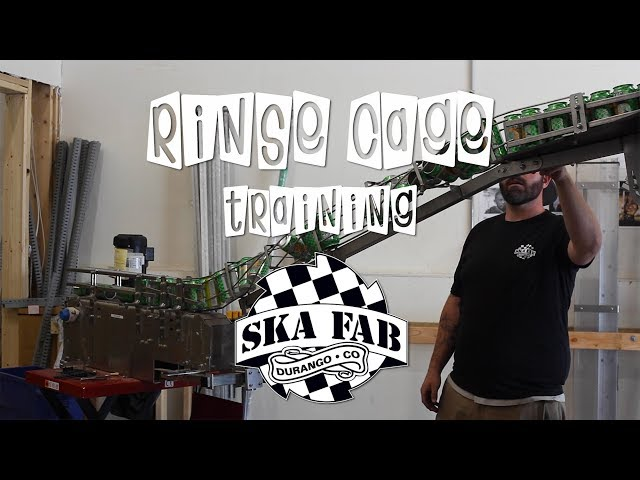 How to Install a Ska Fab Half Pint Rinse Cage