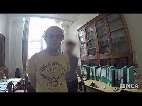 NCA footage shows the surveillance, arrest and questioning of dark web paedophile