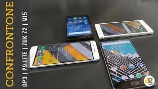 Confronto Cinesoni. OnePlus 3 vs. Xiaomi Mi5 vs. Huawei P9 lite vs Zuk Z2