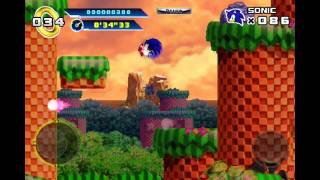 Sonic the Hedgehog 4 Episode I iPhone Playthrough - Part 1