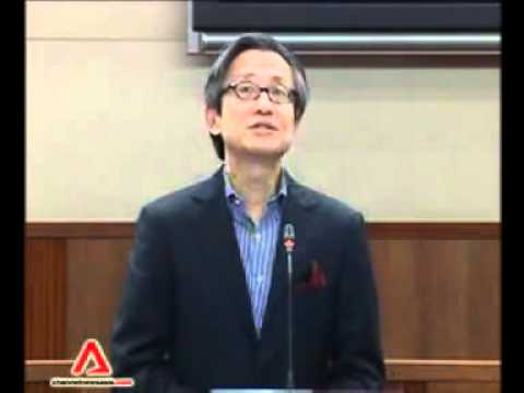 陈硕茂国会华语演讲10月18日2011年-Chen Show Mao Parliamentary Chinese