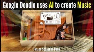 يوهان سباستيان باخ خربش جوجل تستخدم منظمة العفو الدولية لخلق الموسيقى