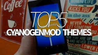 Top 5 Free Cyanogenmod 12 (CM 12) Themes !