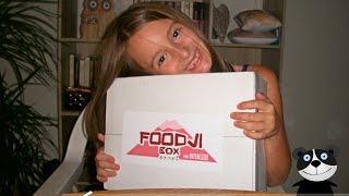 [ DEGUSTATION JAPONAISE ] Foodji box Aout 2016
