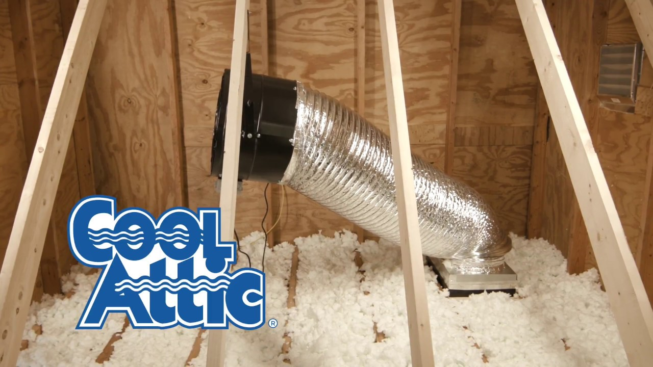 Cool Attic Ducted Whole House Fan Installation Youtube Wiring A
