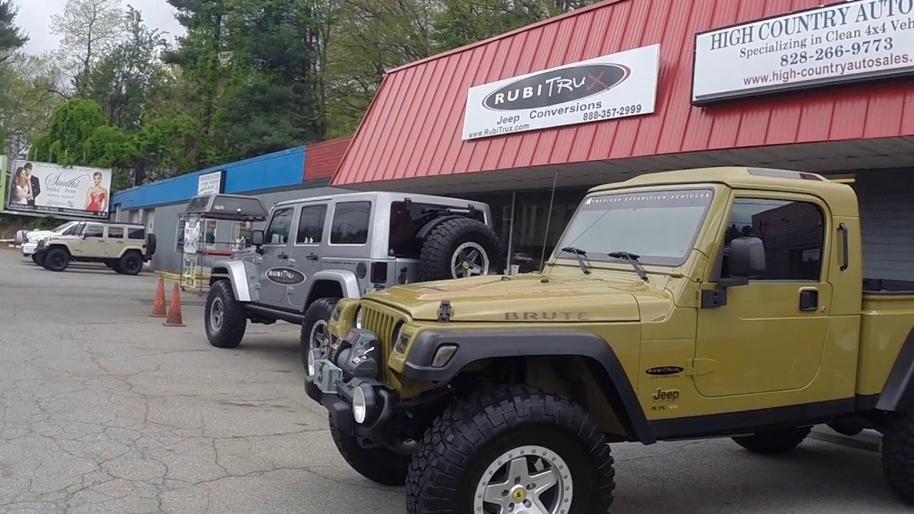 Jeep Wrangler Truck Conversions