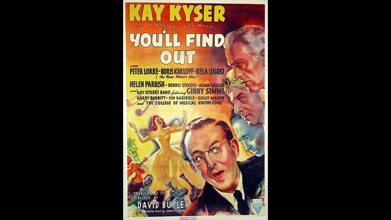 You'll Find Out - Movie Trailer (1940)