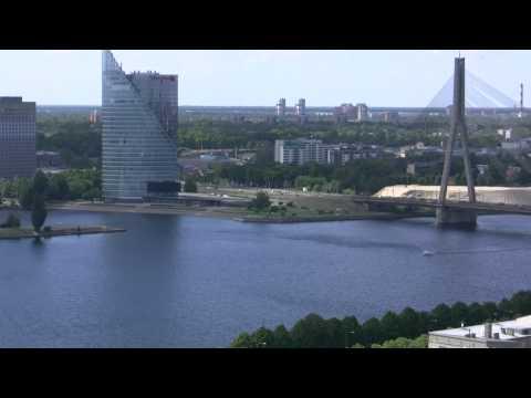 アキーラさん堪能!ラトヴィア・リガの絶景10,The city view of Riga,Latvia