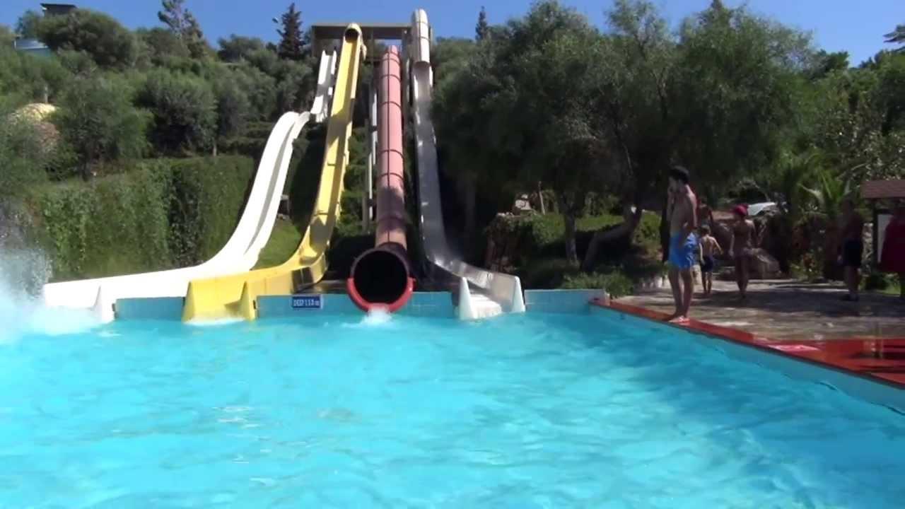 aquapark bodrum Dedeman - YouTube
