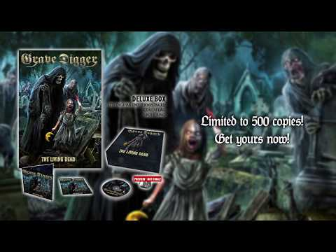 GRAVE DIGGER - The Living Dead (Unboxing)| Napalm Records