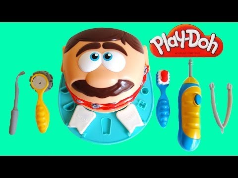 play doh dr drill n fill dentist playset unboxing youtube. Black Bedroom Furniture Sets. Home Design Ideas