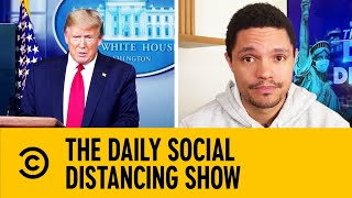 Delay Caused By Trump's Name Being Added To Relief Cheques   The Daily Show With Trevor Noah