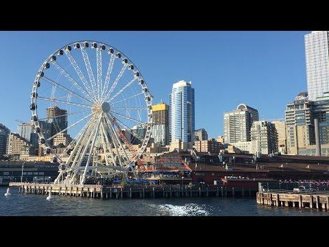 Seattle - Boat Ride Around Elliott Bay & Waterfront During Seafair (Washington, U.S.A.)