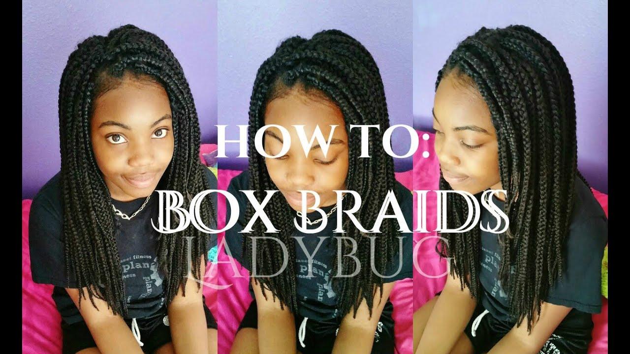 yr. box braids