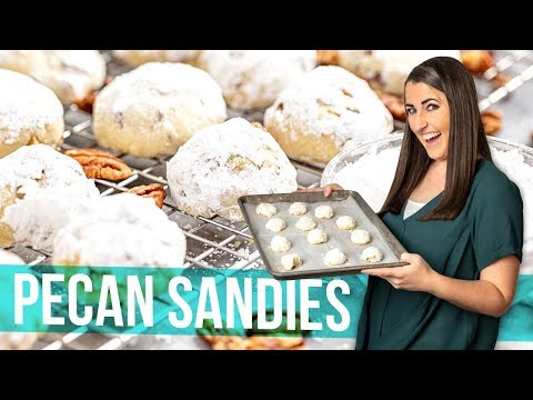 Easy Pecan Sandies (Mexican Wedding Cookies)