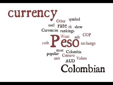 Colombian Currency - Peso