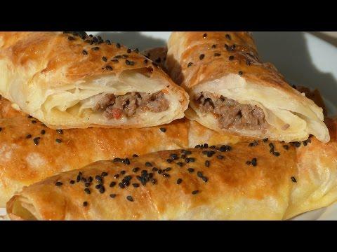 Borek Rolls with Ground Beef – Turkish Spring Rolls Recipe