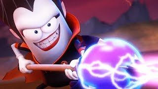 Funny Animated Cartoon | Spookiz Brand New Super Powers 스푸키즈 | Cartoon for Children