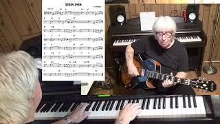 GREEN EYES - Jazz guitar & piano cover ( Nilo Menendez )