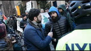 Does Antifa know what Fascism is? | Interviewing Proud Boys Protesters at Trump Tower
